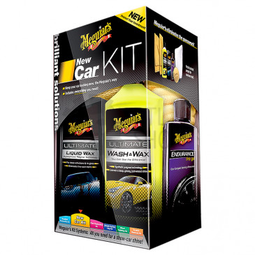 Brilliant Solutions New Car Kit - Набор для ухода за автомобилем, G3200, Meguiar's